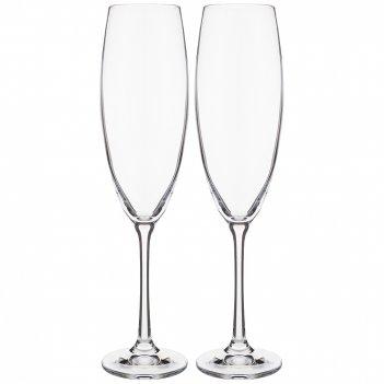 Набор бокалов для шампанского sophia из 2 шт. 230 мл высота=24,5 см (кор=2