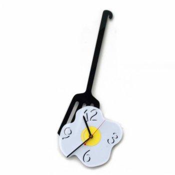 Кухонные часы яичница cl156 21х50см