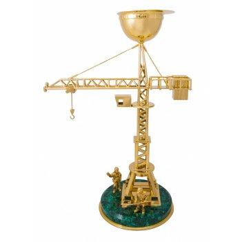 Сувенир строительный кран  златоуст