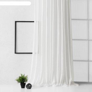 Портьера «элит»,  размер 300 x 270 см, цвет айвори