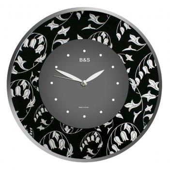 Настенные часы b&s shc-300 gf(bl)
