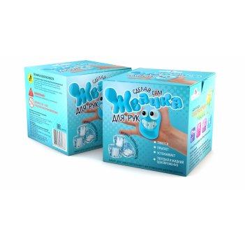 Набор для опытов инновации для детей 814 жвачка для рук.ледяная свежесть