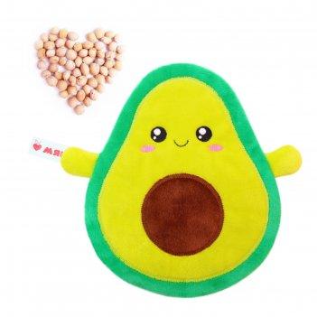 Развивающая игрушка-грелка авокадо 513