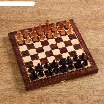 Шахматы рапид, утяжеленные, (доска 37х37 см, бук, король h=9 см, пешка h=4