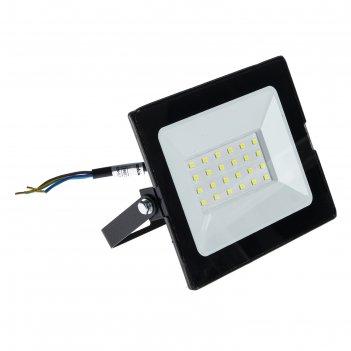 Прожектор светодиодный duwi eco, 30 вт, 6500 к, 2100 лм, ip65
