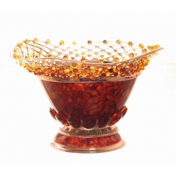 вазы из янтаря