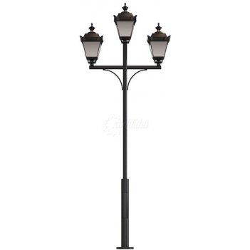 Стальной фонарный ретро 3 мод. 17 2,5 м.