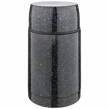 Термос agness с широким горлом и крышкой-чашкой, 750мл, колба нжс (кор=12ш