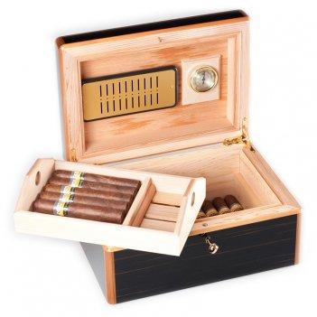Gig с2/mk  хьюмидор на 40 сигар от giglio, италия.