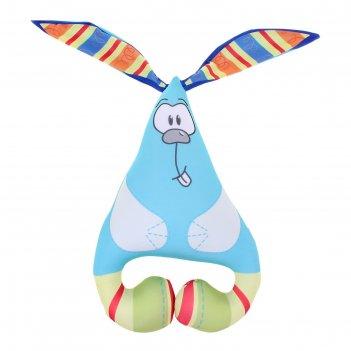 Мягкая игрушка-антистресс заяц ушастик