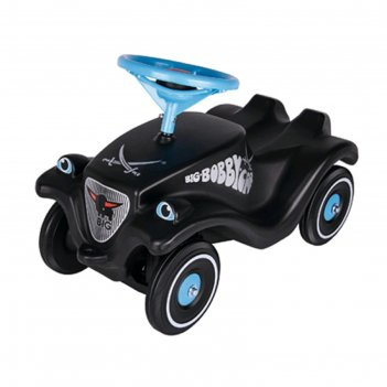 Детская машинка-каталка big bobby car classic sansibar, чёрная
