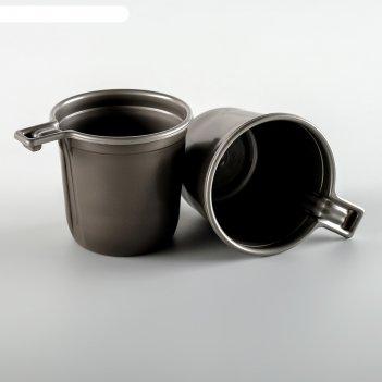 Набор взбодрись: чашка кофейная двухцветная, 6 шт