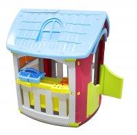 Детский игровой домик мастерская, цвета микс