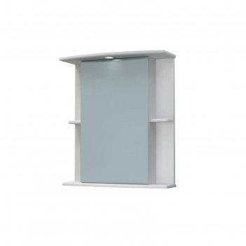 Шкаф-зеркало крокус 60с белый в