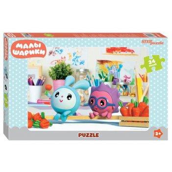 Мозаика puzzle maxi 24 малышарики (мармелад медиа)