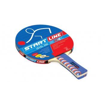 Ракетка level 300 для настольного тенниса, коническая рукоятка