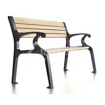 Скамейка чугунная «скамейкус-5» 1,8 м