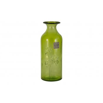 Ваза citron breeze, зелёная, 19 см