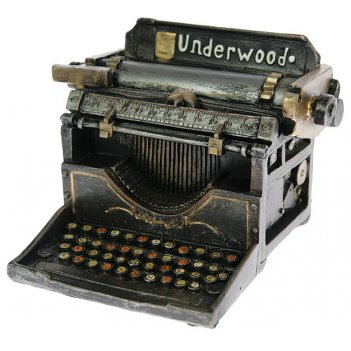 Копилка-ретро печатная машинка 18*16*12см