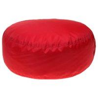 Пуф таблетка d50/h15 цв oxford 05 красный нейлон 100% п/э, несъемный чехол