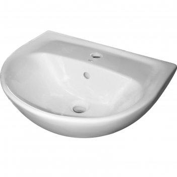 Умывальник sanita «эталон 55», с отверстием под смеситель, белый