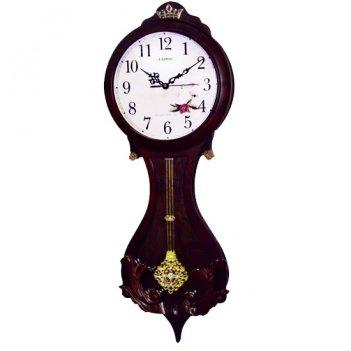 Интерьерные настенные часы с маятником kairos rс 007-2