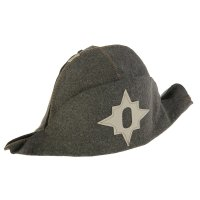 Банная шляпа «наполеон»