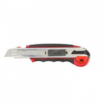 Нож унивесальный matrix 78921, обрезиненная ручка, металл, 5 лезвий, 18 мм