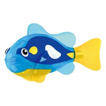 Тропическая роборыбка ангел (синяя) лицензия от robofish zuru