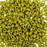 Бисер gamma круглый 10/0 (е376 оливковый)
