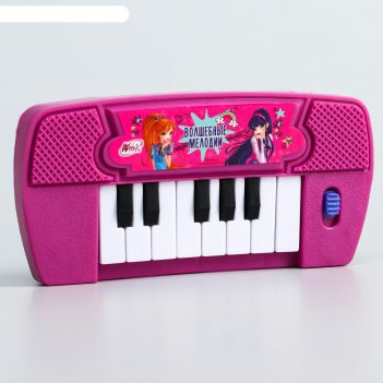 Синтезатор «музыкальные уроки», феи винкс, работает от батареек