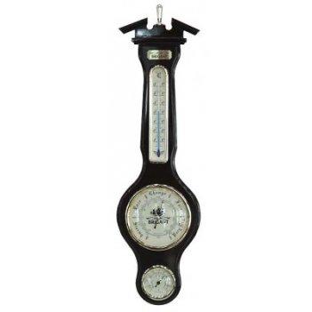 Барометр brigant: барометр, термометр, гигрометр 14*50см