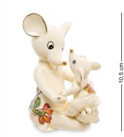 Jp-121/10 фигурка мышь с малышом (pavone)