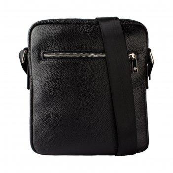 Сумка мужская, отдел на молнии, 1 наружный карман, регулируемый ремень, цв