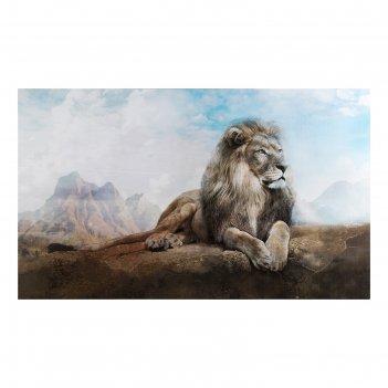 Картина на холсте король лев