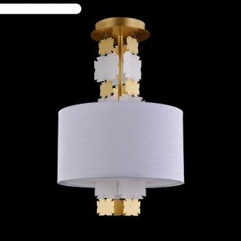 Светильник valencia 1x60вт e27 латунь 32x32x52см