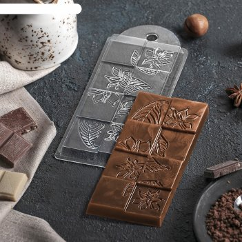 Форма для шоколада лесенка 7х15х10 см