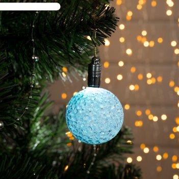 Подвеска световая шарик, 5 см, батарейки в комплекте