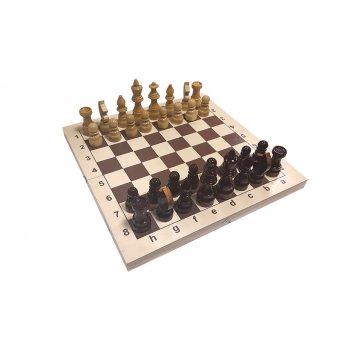 """Шахматы """"кировские"""" большие (россия, дерево, 43х21.5х6 см)"""