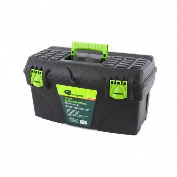 Ящик для инструмента сибртех, 530 x 275 x 290 мм, 21, пластик