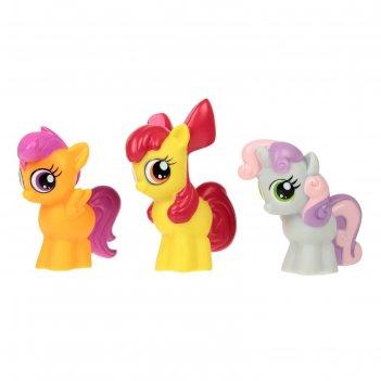Игрушка для ванной my little pony в сетке микс lxst32-35r