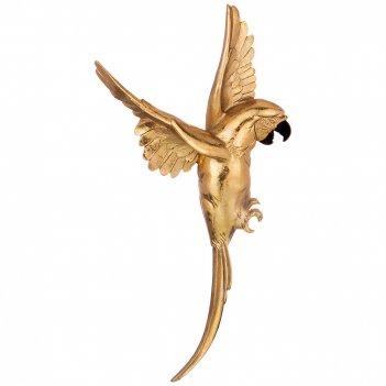 Панно попугай 17*5 см. высота=30 см. (кор=12шт.)
