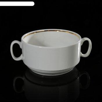 Чашка для бульона 470 мл, без деколи