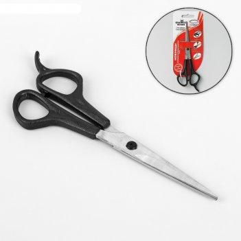 Ножницы парикмахерские с усилителем с микродентацией, 6,5 дюймов