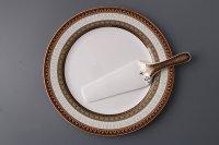 Блюдо для торта+лопатка леонардо диаметр=27 см.