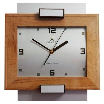 Часы настенные aс-02  тик  со стеклом 300х270х40 мм