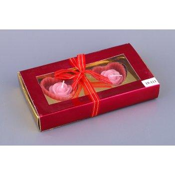 Подарочный набор с двумя аромо-свечами