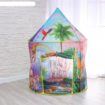 Палатка детская игровая джунгли 100х100х135 см