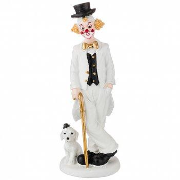 Фигурка клоун 8,5*8*23 см. коллекция буффонада (кор=24шт.)