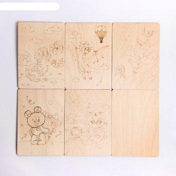 Игры для рисования. набор для выжигания простые рисунки
